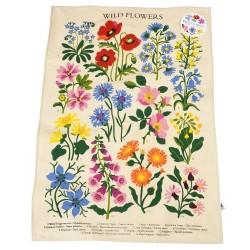 Viskestykke - Wild Flowers