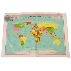 Viskestykke - World Map