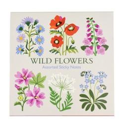 Sticky notes - Wild Flowers
