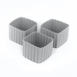 Bento Cups - Kvadrater - Grey