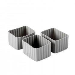 Bento Cups - Rektangulære Small - Grey