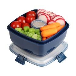 Salad 1,1 l - Navy - Sistema Renew