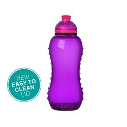 Drikkedunk Twist 'n Sip 330 ml - Lilla - Sistema