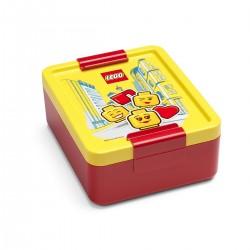LEGO® Madkasse - Iconic Rød/Gul