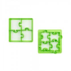 Lunch Punch sandwichudstikkersæt - Puzzle