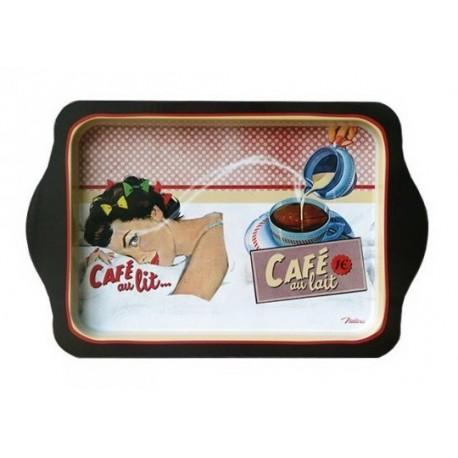 """Metalbakke """"Café au lit"""""""