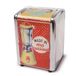 """Servietdispenser """"Made in ma cuisine"""""""