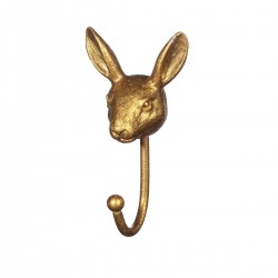 Knage - Kanin (guld)