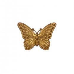 Møbelgreb - Sommerfugl (guld)