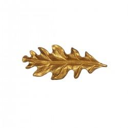 Møbelgreb - Blad (guld)
