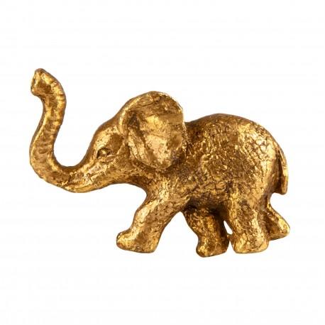 Møbelgreb - Elefant (guld)