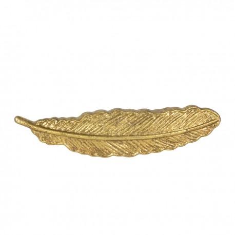 Møbelgreb - Fjer (guld)