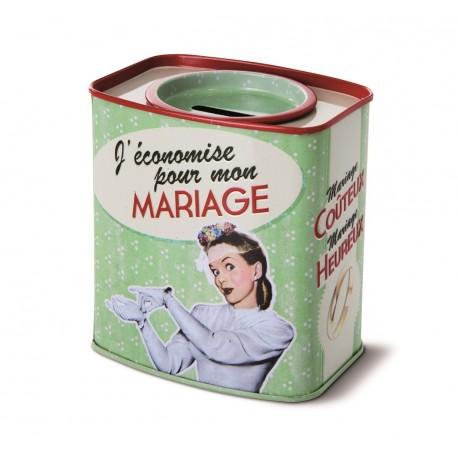 "Sparedåse ""Mariage"""