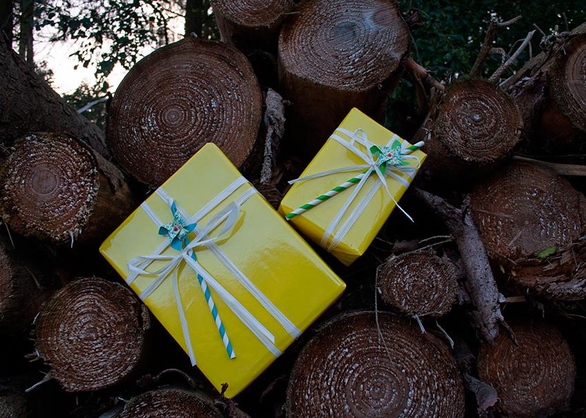 Vi pakker gerne dine varer ind til gave